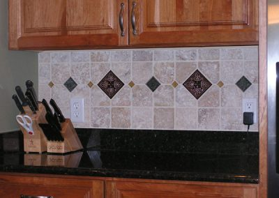 Evans Stone Backsplash