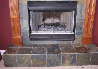 Carr Slate Fireplace