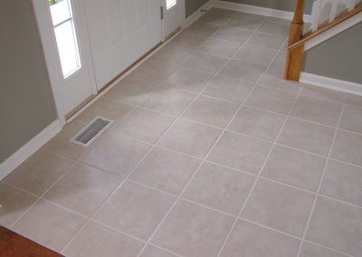 Creekside Tile Entryway