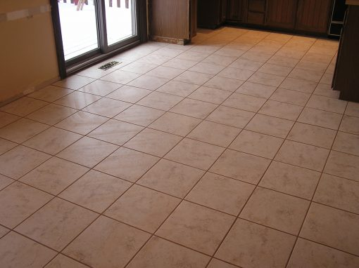 Ceramic Tile Floor in Uniontown, Ohio