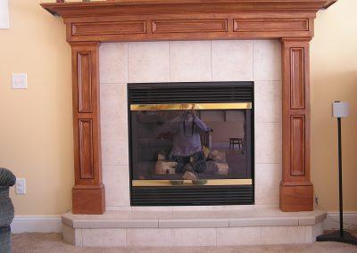 Rathbun Tile Fireplace