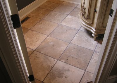 Richterman Travertine Floor