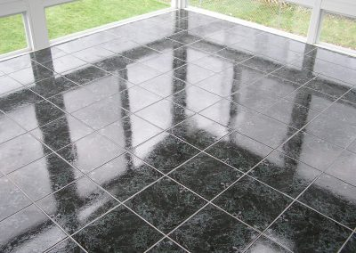Tiled Patio Enclosure in Stow, Ohio