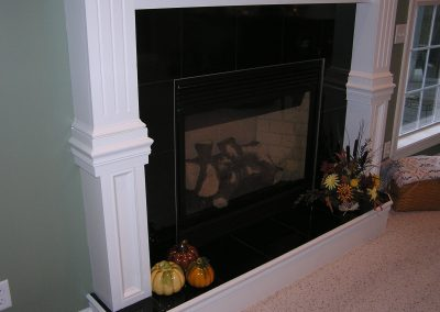 Truthan Granite Fireplace