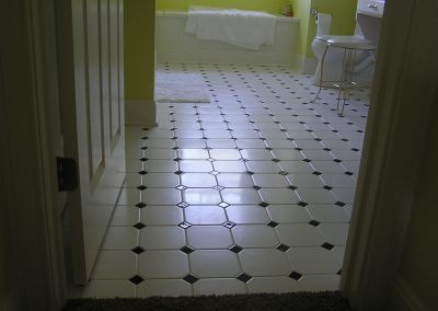 Smith Bathroom Floor