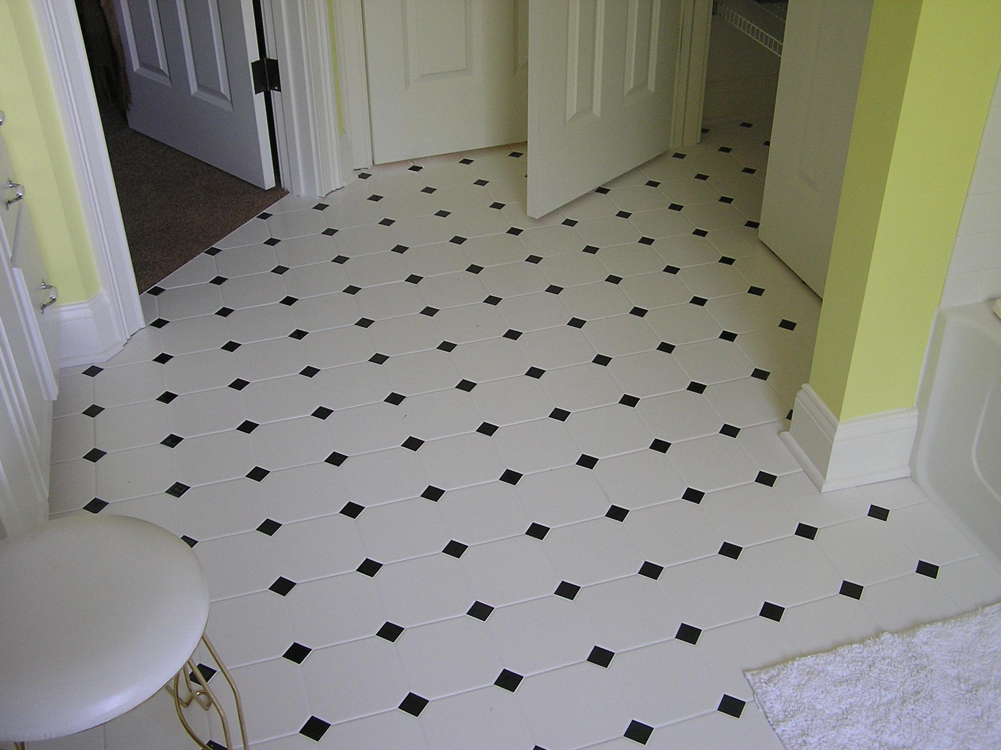Smith Bathroom Floor