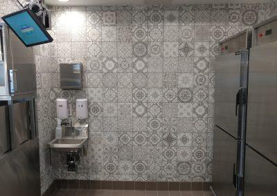 Taco Bell Kitchen Tile