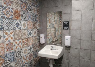 Taco Bell Tile Restrooms