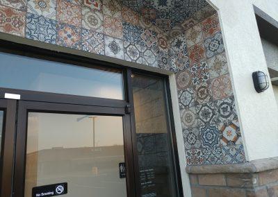 Taco Bell Outside Tile