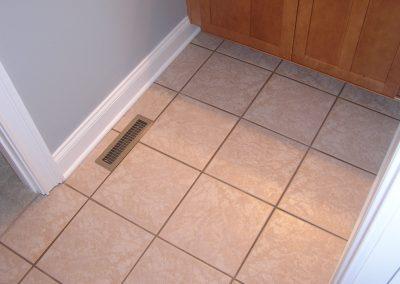 Early Jack n Jill Bathroom Tile
