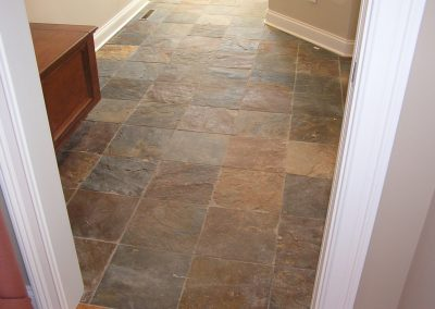 Early Slate Tile Floor
