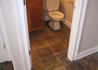 Early Slate Tile Floor