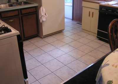 Ceramic Tile Floor in Ravenna, Ohio