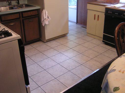 Ceramic Tile Floor in Ravenna, Ohio