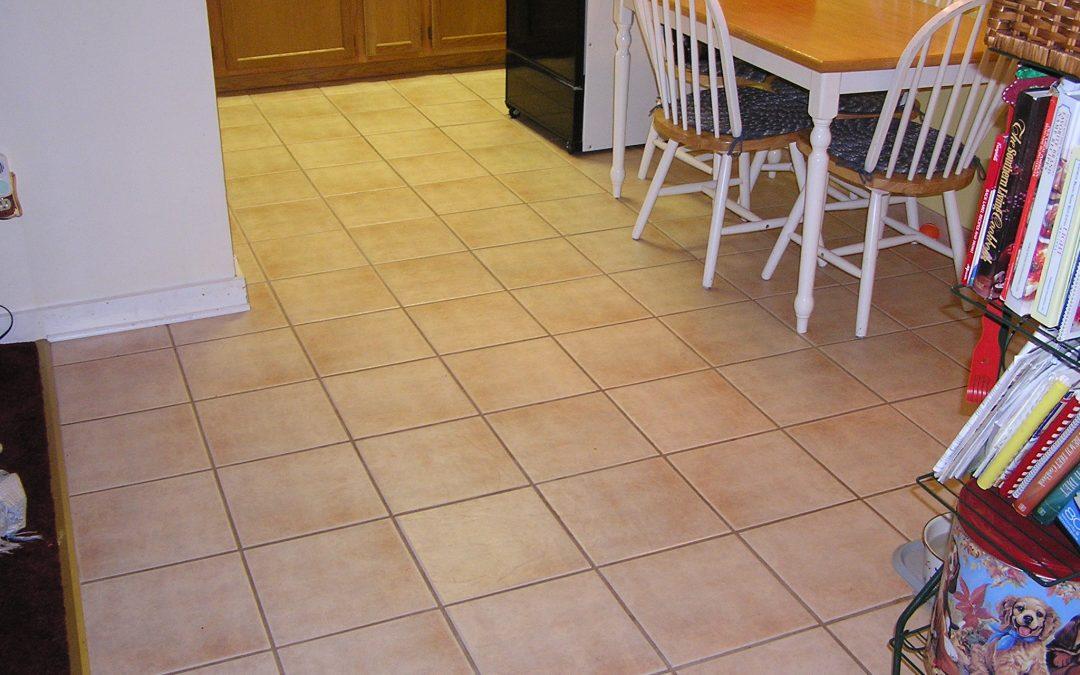 Ceramic Tile Floor in Akron Ohio