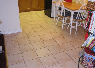 Ceramic Tile Floor in Akron Ohio