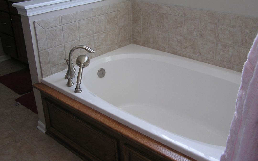 Simple Tile Master Bathroom in Cuyahoga Falls, Ohio