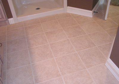 Richterman Bathroom Floor