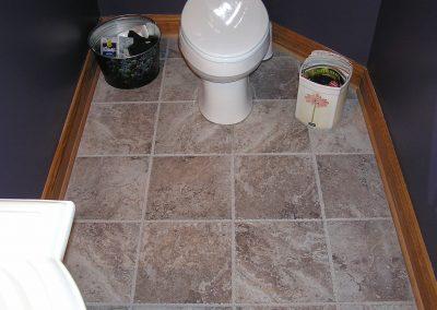 Roberts Bathroom Floor Tile