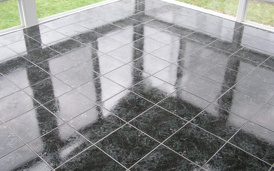 Tiled Patio Enclosure in Stow, Ohio