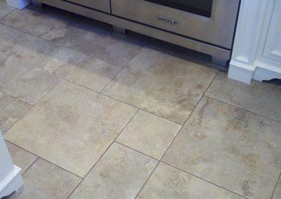 Janice Zockell Kitchen Tile Floor
