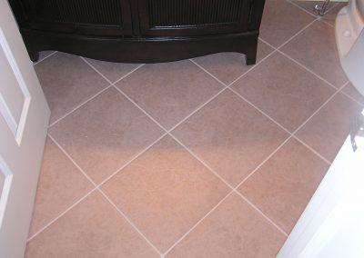 Ernie Haase Bathroom Floor