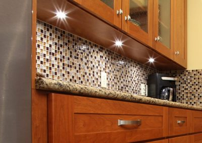 Glass Mosaic Tile Backsplash in Copley, Ohio