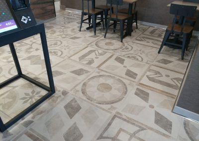 Taco Bell Dining Room Tile